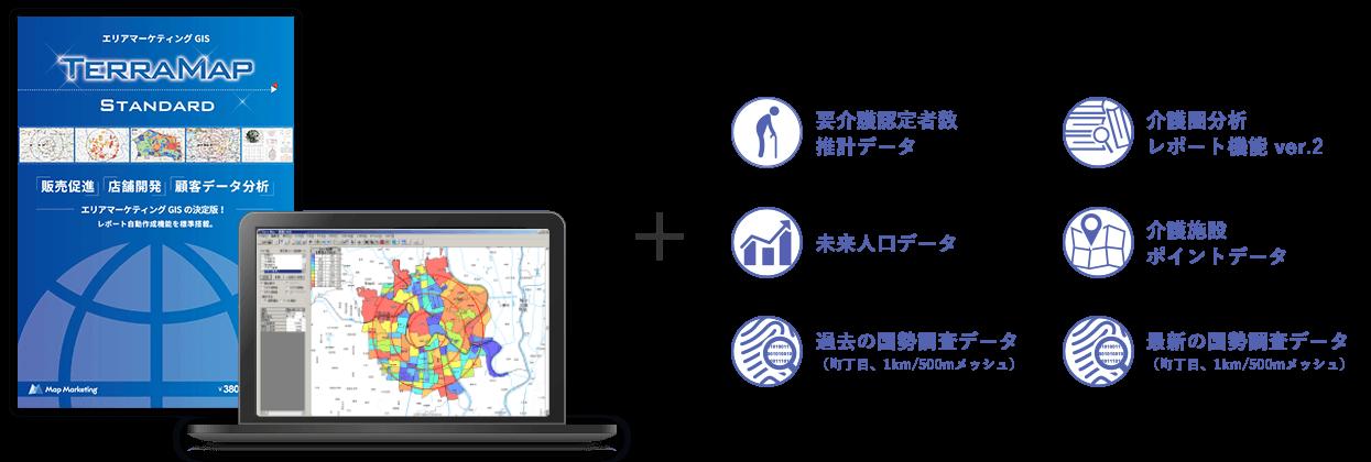 介護事業の商圏分析に最適な商圏分析ソフト