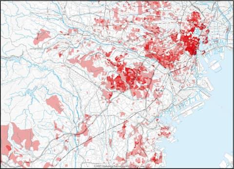 年収別世帯数推計データ(年収データ)でエリアマーケティング・商圏分析