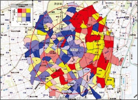 クロス集計で詳細なエリアマーケティング・商圏分析